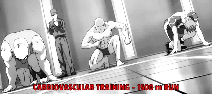 One Punch Man Cardiovascular Training